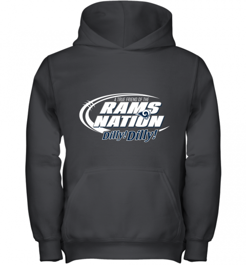 A True Friend Of The RAMS Nation Youth Hoodie