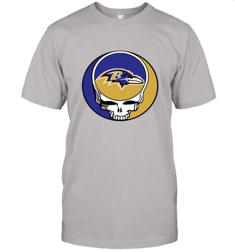 wlr2 nfl team baltimore ravens x grateful dead jersey t shirt 60 front ash