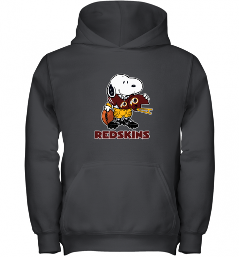 Snoopy A Strong And Proud Washington Redskins NFL Youth Hoodie