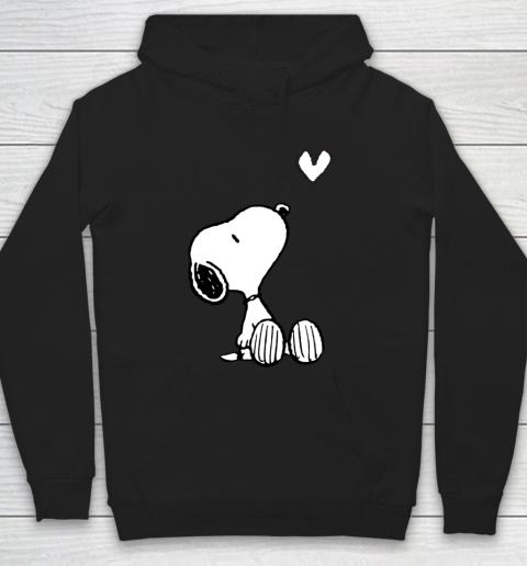 Peanuts Valentine Snoopy Heart Hoodie