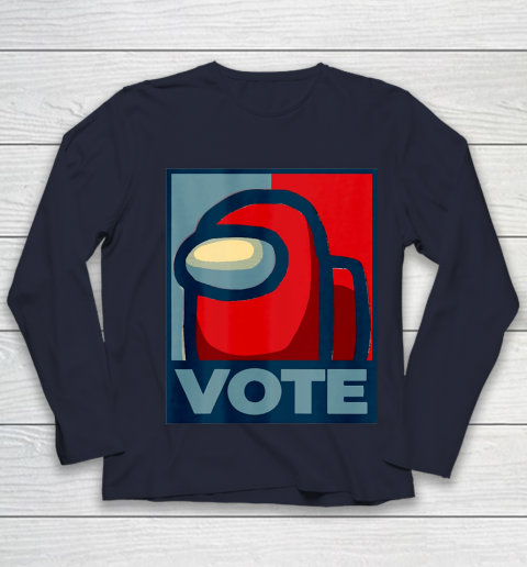 Who is the Impostor neu Among with us start the vote Youth Long Sleeve 3