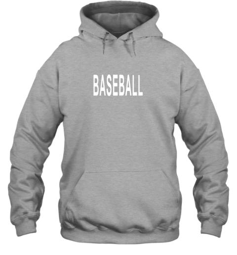 llvz shirt that says baseball hoodie 23 front sport grey
