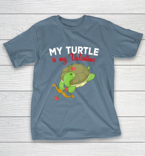 Turtle Valentine T Shirt Sea Turtle Cupid Valentines Day T-Shirt 6