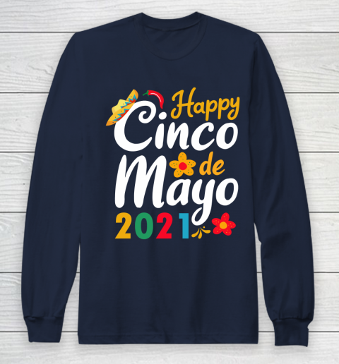 Happy Cinco de Mayo 2021 Mexico Long Sleeve T-Shirt 10