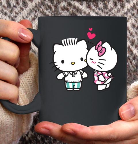 Hello Kitty and Dear Daniel Valentine Tee Ceramic Mug 11oz