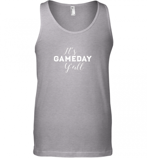 c5ut it39 s game day y39 all football baseball basketball unisex tank 17 front sport grey