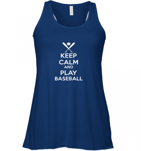 nws2 keep calm and play baseball flowy tank 32 front true royal