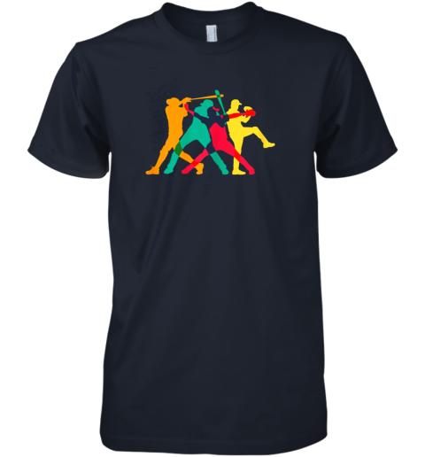 mg15 vintage baseball shirt gifts premium guys tee 5 front midnight navy