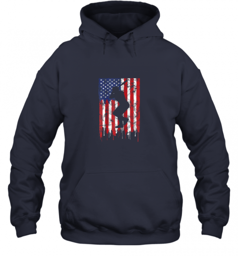 rpro vintage patriotic american flag baseball shirt usa hoodie 23 front navy
