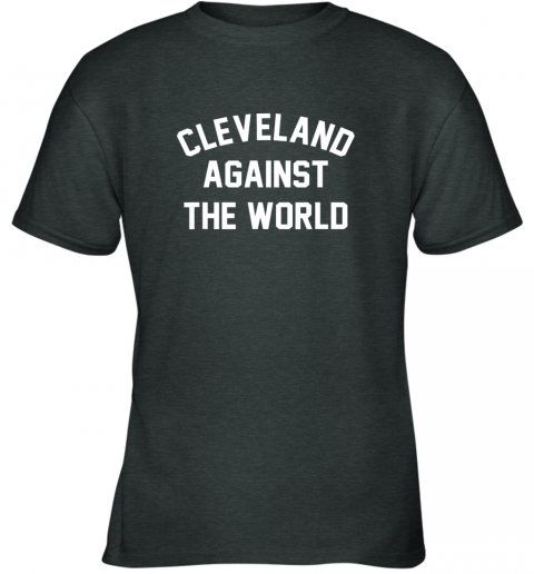 96mq cleveland against the world football baseball basketball youth t shirt 26 front dark heather