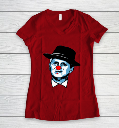 Michael Rapaport Clown Women's V-Neck T-Shirt 8