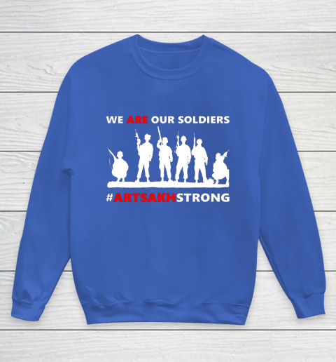 We Are Our Soldiers Youth Sweatshirt 6