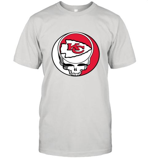 NFL Team Kansai City Chiefs x Grateful Dead Unisex Jersey Tee