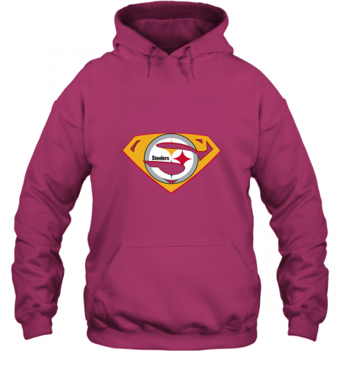jogm superman steelers hoodie 23 front heliconia