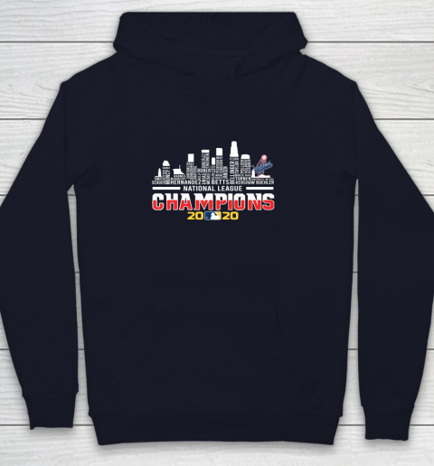 Los Angeles Dodgers Championship 2020 Youth Hoodie 2