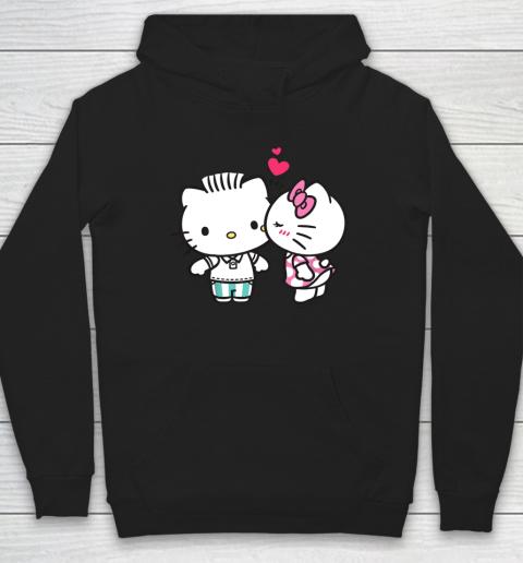 Hello Kitty and Dear Daniel Valentine Tee Hoodie