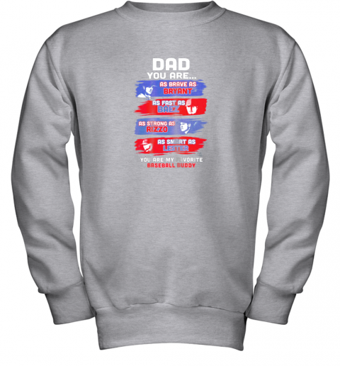 oh5y javier baez baseball buddy shirtapparel youth sweatshirt 47 front sport grey