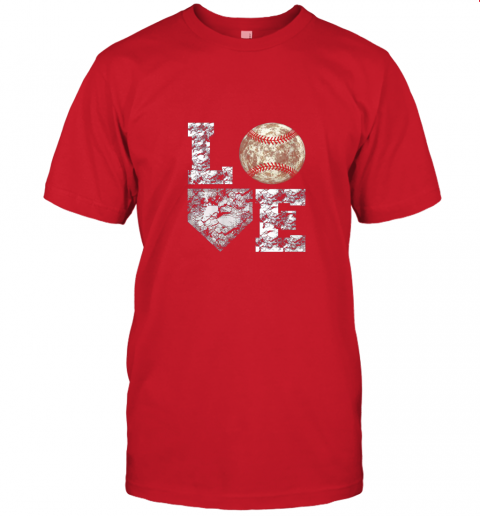 jwxh baseball distressed ball cute dad mom love gift jersey t shirt 60 front red