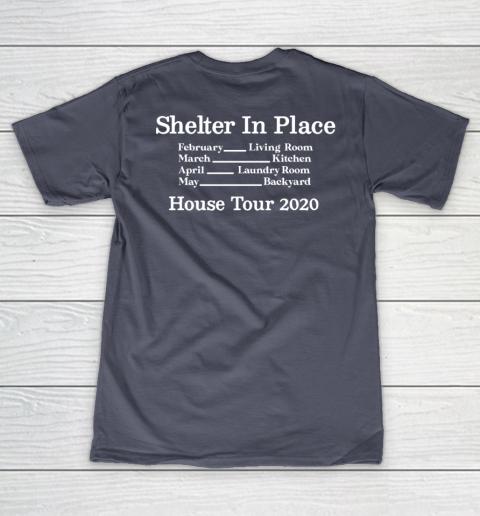 Peter Frampton Covid Stays Inside V-Neck T-Shirt 15