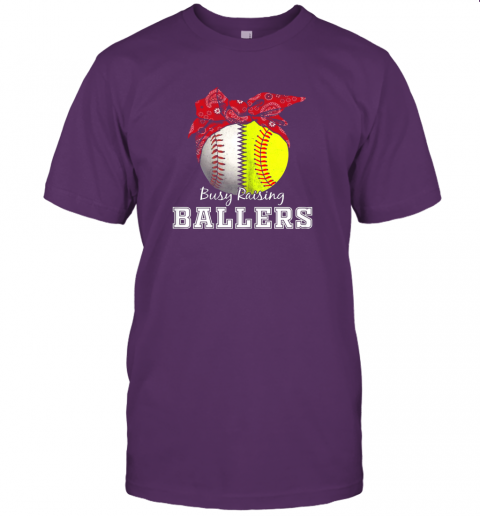 cmmt busy raising ballers softball baseball shirt baseball mom jersey t shirt 60 front team purple