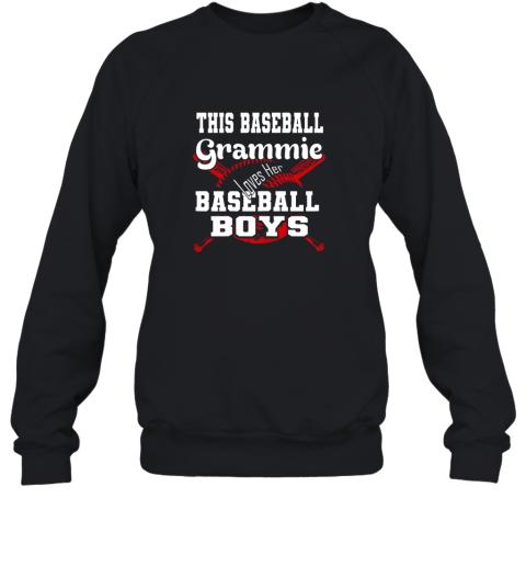This Baseball Grammie Loves Her Baseball Boys Sweatshirt