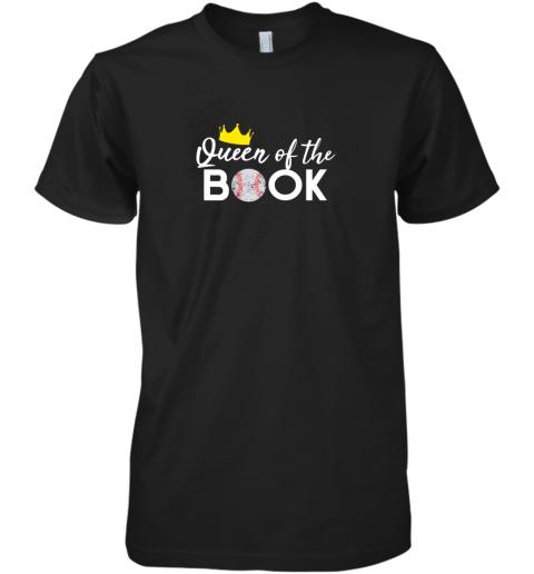 Scorekeeper Baseball Team Scorebook Queen Premium Men's T-Shirt