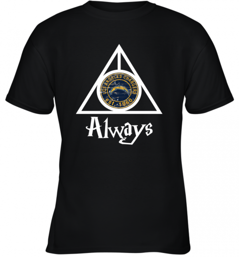 Always Love The Los Angeles Chargers x Harry Potter Mashup NFL Youth T-Shirt