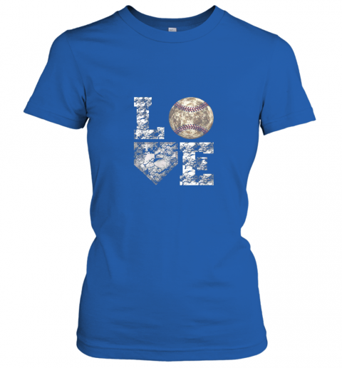 xawu baseball distressed ball cute dad mom love gift ladies t shirt 20 front royal