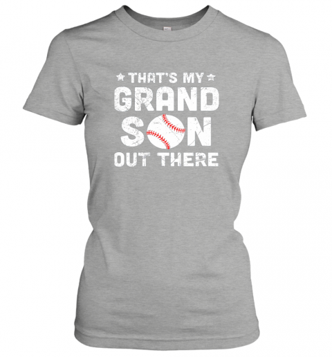 jt7o grandma that39 s my grandson out there baseball ladies t shirt 20 front ash