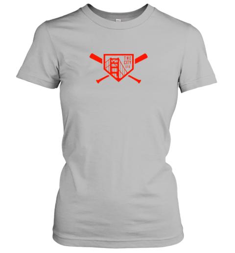 lslg cool san francisco baseball the city bridge sfo ladies t shirt 20 front sport grey