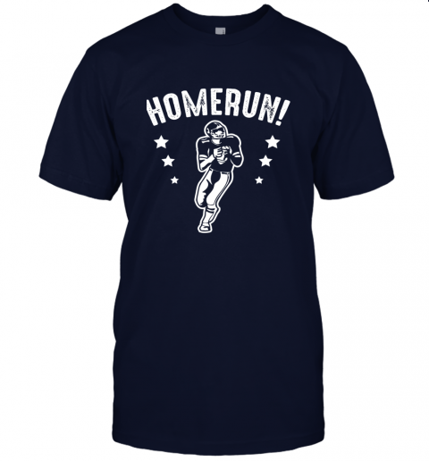 x9su homerun football baseball mix wrong sports jersey t shirt 60 front navy