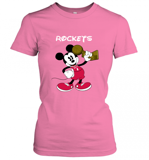 Mickey Houston Rockets Women's T-Shirt