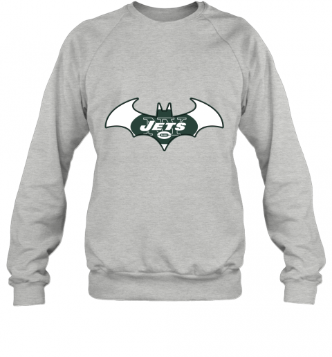 l5vy we are the new york jets batman nfl mashup sweatshirt 35 front sport grey
