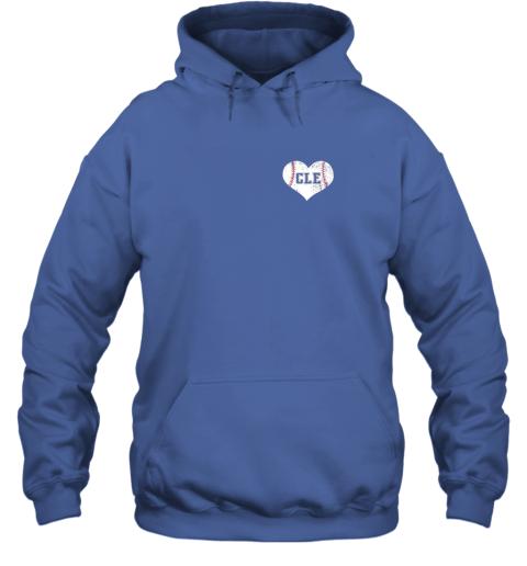 ulfw vintage cleveland baseball sweatshirt ohio cle hoodie 23 front royal