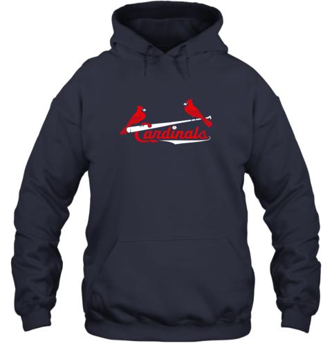 tfhp cardinal sports shirtst louis baseball fan hoodie 23 front navy