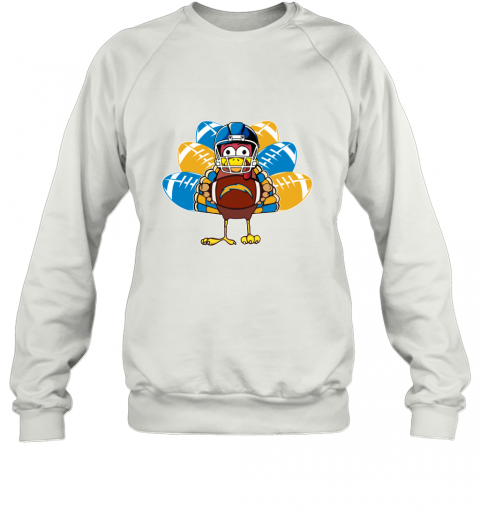 Los Angeles Chargers  Thanksgiving Turkey Football NFL Sweatshirt