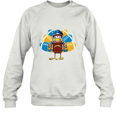 Los Angeles Chargers  Thanksgiving Turkey Football NFL Sweatshirt