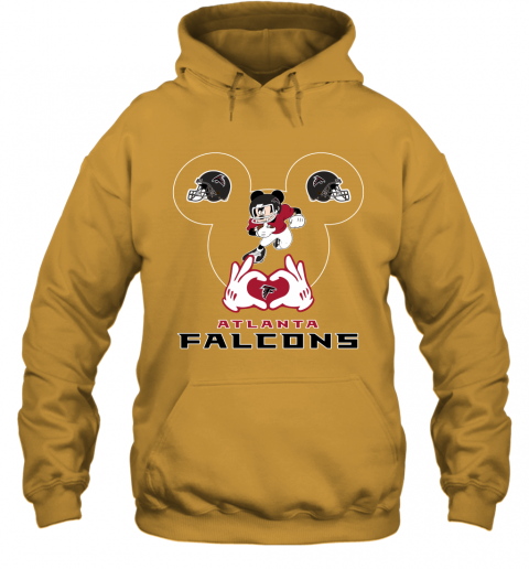 zzcq i love the falcons mickey mouse atlanta falcons hoodie 23 front gold