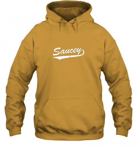 rkzq saucey swag baseball hoodie 23 front gold