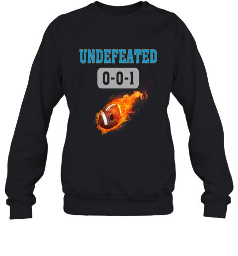 NFL CAROLINA PANTHERS Logo Undefeated Sweatshirt