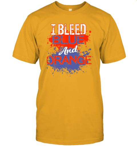 jyvh i bleed blue and orange fan shirt football soccer baseball jersey t shirt 60 front gold