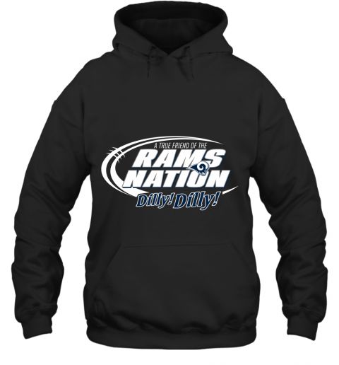 A True Friend Of The RAMS Nation Hoodie