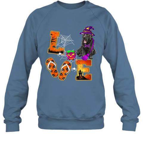 Newfoundland Love Halloween Boo Dog Gifts Sweatshirt