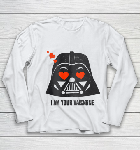 Star Wars Darth Vader I Am Your Valentine Youth Long Sleeve