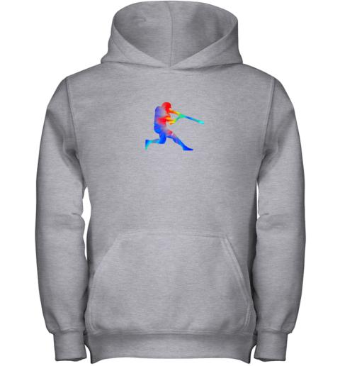 vjvp tie dye baseball batter shirt retro player coach boys gifts youth hoodie 43 front sport grey