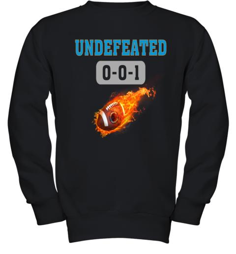 NFL CAROLINA PANTHERS Logo Undefeated Youth Sweatshirt