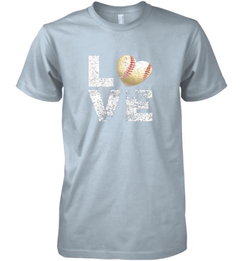 lkon i love baseball funny gift for baseball fans lovers premium guys tee 5 front light blue