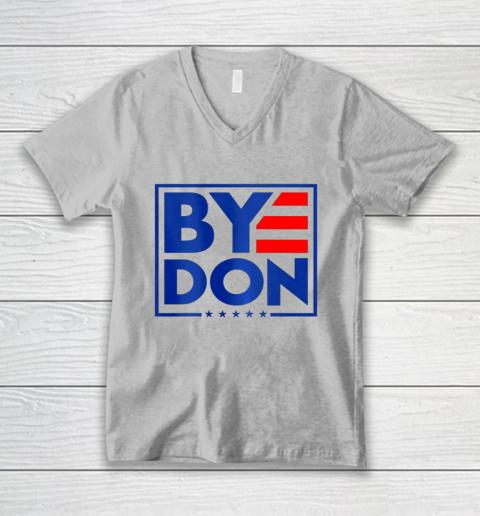 Funny Bye Don 2020 Joe Biden Anti Trump V-Neck T-Shirt 2
