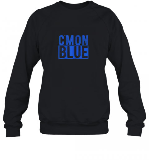 Cmon Blue, Umpire, Baseball Fan Graphic Lover Gift Sweatshirt