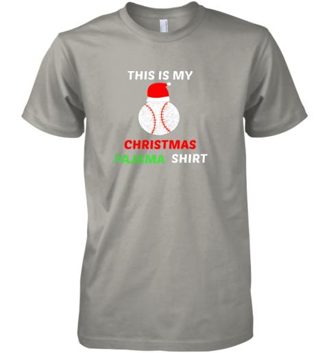 fkn1 this is my christmas pajama shirtgift for baseball lover premium guys tee 5 front light grey